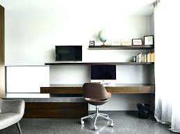 home office wall shelving. Office Floating Shelves Shelf Desk With Contemporary Desks Home Modern And . Wall Shelving