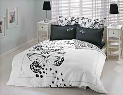 Bedroom Ideas With Black And White Bedding 2