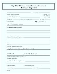 employment requisition form template employee requisition form template www topsimages com