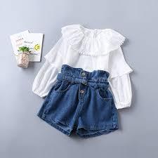 Online Shop <b>2019</b> New Spring <b>Summer Cotton</b> Baby Girl Clothing ...