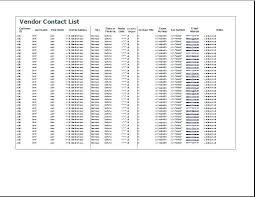 Vendor List Template Unique Vendor Database Template Bigqmediaco