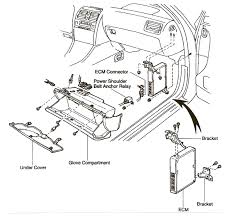 i have a 1995 lexus ls400 i need to know how to remove the then remove the three nuts holding the ecm brackets remove the connectors and it will come out i will send a diagram that will help