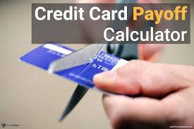 Calculator Credit Card Payment Credit Card Payoff Calculator How Long To Pay Off Credit Card