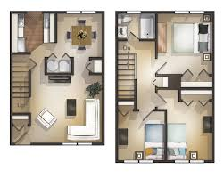 apartment 3 bedroom. 3 bedroom townhouse unit floorplan apartment a
