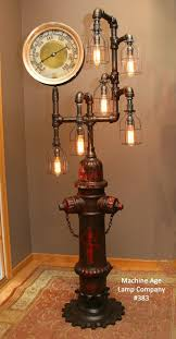 steampunk pendant light awesome steampunk industrial antique fire hydrant floor lamp 383