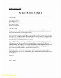 Examples Of Cover Letter For Resume New Template for Cover Letter Best Templates 68