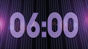 Countdown Timer Neon 3 Minutes C5we5 Videostube