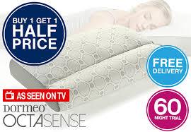 pillow offer on tv. dormeo octasense pillow offer on tv