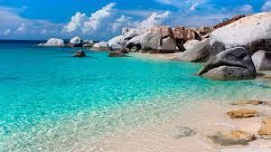 Rocky shore, nature, landscape, beach ...