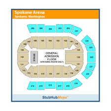 Veterans Memorial Arena Seating Chart Spokane Veterans Memorial Arena Events And Concerts In