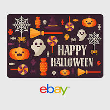 Halloween Gift Cards Details About Ebay Digital Gift Card Halloween Themes Email Delivery