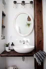 diy floating sink shelf creative diy bathroom ideas on a budget diy projects