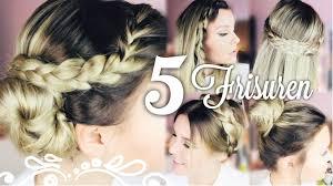 5 Sch Ne Easy 5 Minuten Frisuren Dagi Bee Youtube
