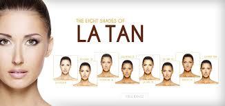 La Tanning Solutions Samples