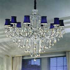 crystal chandelier with shades furniture rectangular crystal chandelier with black shade