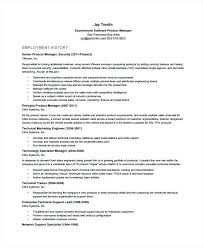Product Managers Resume Manager Example Technical Sample