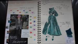 Sketchbook Design Ideas Fashion Design Ideas Rough Sketchbook Flick Through A Level A Grade