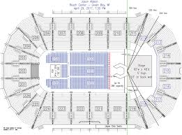 Resch Center Seating Chart With Seat Numbers Resch Center Seating Map Resch Center Seating Chart Pbr