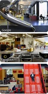 facebook office design tells. office of google facebook youtube humor pinterest interiors corporate design and workspaces tells