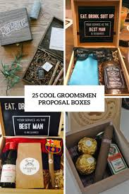 cool groomsmen proposal boxes cover