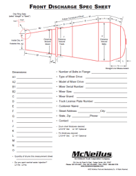 mcneilus mixer oshkosh mixer download catalogs Advance Mixer Wiring Diagram drum spec sheet for front discharge mixer advance cement mixer wiring diagram