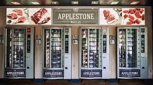 I Used To Ride With A Vending Machine Repairman Adorable LSN News A Meat Vending Machine For Busy Lifestyles