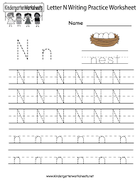 letter n worksheets for preschool - Google Search | Learning Sheets