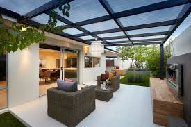 glass patio roof design