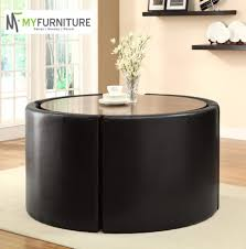 faux leather chair set stunning hideaway dining table and chairs with room saving kitchen black compact wall mounted oval tables for small oak round