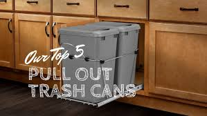 5 Best Pull Out Trash Cans For Kitchens 2019 Woodworker Access