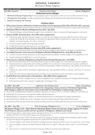 Contract Mechanical Engineer Sample Resume 20 Resume Examples Mechanical Engineer  Contract Cover Letter ...