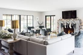 Holiday Living Gold Mini Lights 25 Stunning Christmas Living Rooms Holiday Living Room