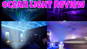 relaxing lighting. Ocean Wave Night Light Projector Touch With Relaxing Music Review And Test By ThinkUnBoxing 4k Lighting C