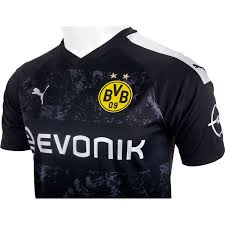 Dress in black & yellow with bvb home, away jerseys & shirts. 2019 20 Puma Borussia Dortmund Away Jersey Soccerpro