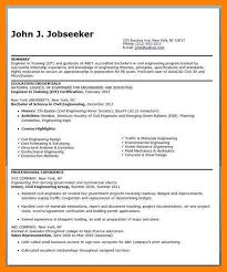 Resume Title Example Standart Picture Examples For Entry Level Cv