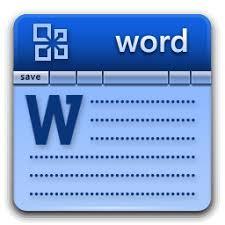 microsoft word icon microsoft word icon free icons download