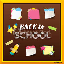 Back To School Invitation Template Welcome Back To School Typographical Background On Chalkboard With
