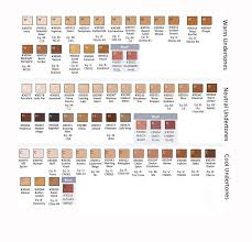 Makeup Foundation Color Chart Hd Ultra Hd Glamour Creme Foundation Samples Cream