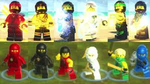The LEGO Ninjago Movie Video Game vs LEGO Ninjago: Shadow of Ronin - All  Main Ninjago Characters - YouTube