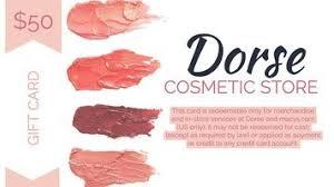 makeup gift card
