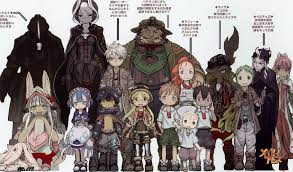 Made In Abyss Chart Characters Made In Abyss Wiki Fandom