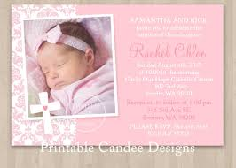 Free Printable Photo Birth Announcements Templates Baptism
