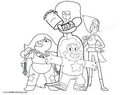 Universe Coloring Book Garnet Pages Image Cat Page Steven Colouring