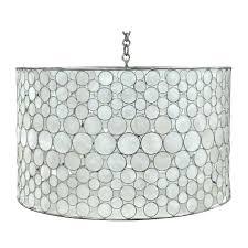 oly studio meri drum chandelier contemporary