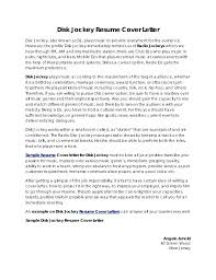 How To Prepare Resume For Job Fair Sample Cover Letter After Job