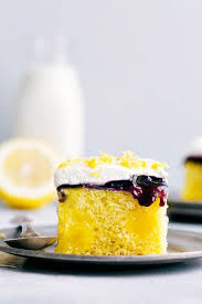 Lemon Blueberry Poke Cake The Recipe Critic