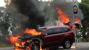 2016 Ford Everest catches fire during journalist test drive ...