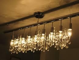 linear strand crystal chandelier z gallerie home design ideas