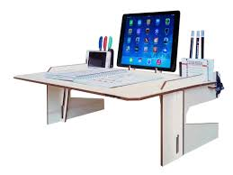 laptop lap desk for table tray with mouse pad bath and beyond laser cut woodlap deskdesk