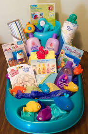 under the sea bath time gift basket use items from her baby registry
